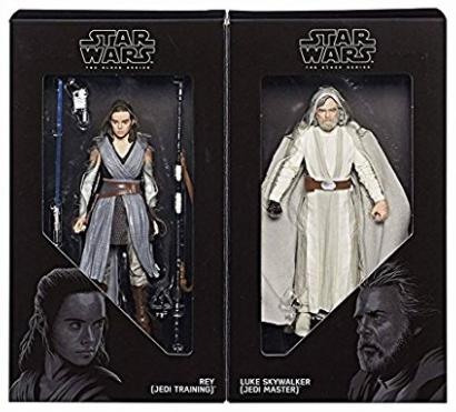 STAR WARSThe Last Jedi Luke & Rey