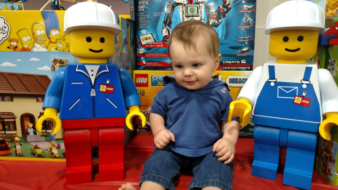 Lego Men & Lil' G-Man