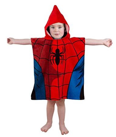 Spider-man hoodie towel