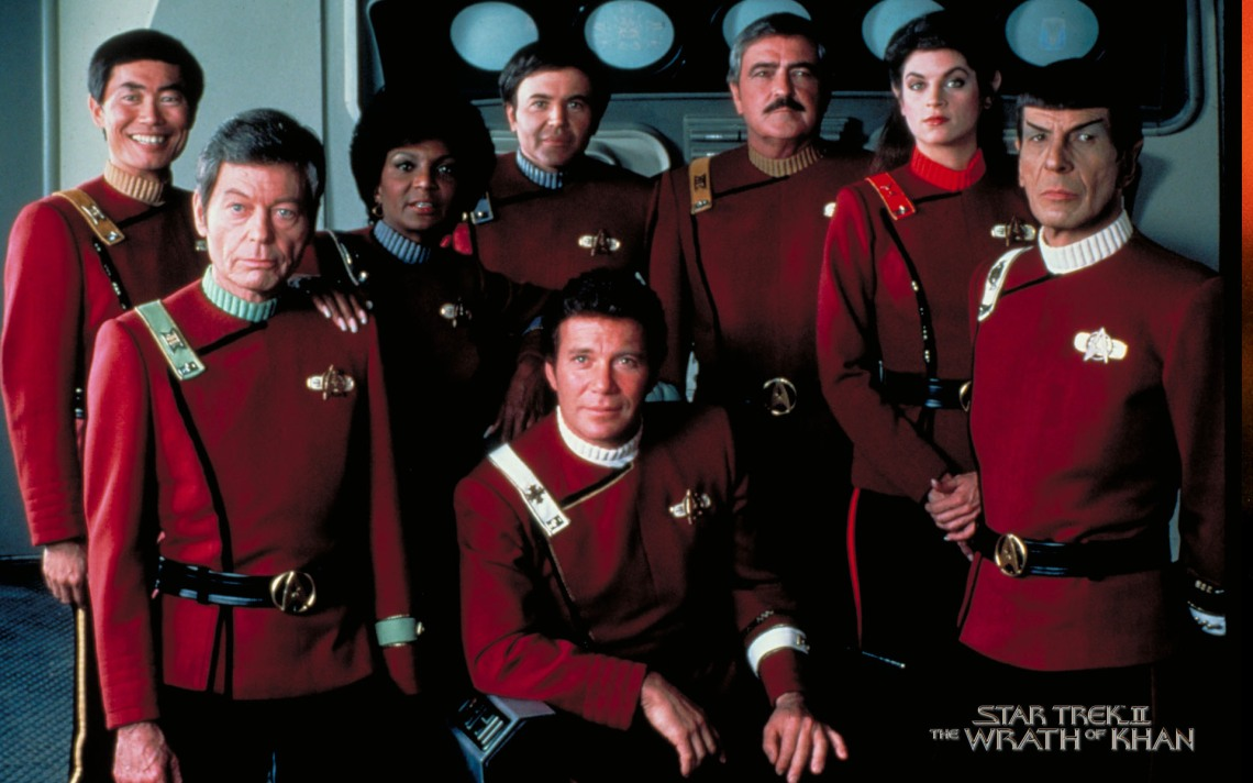 star trek II cast