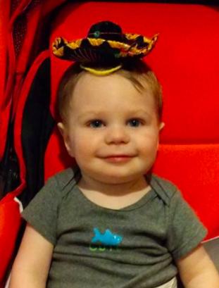 Lil G-Man in Sombrero