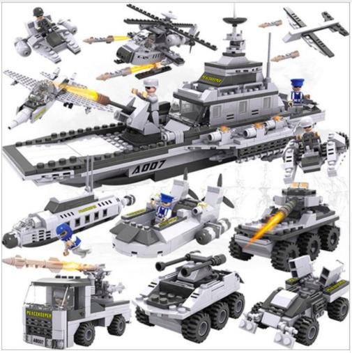 military ship legos