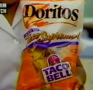 Taco bell Doritos