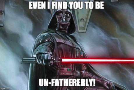 unfatherly darth vader 1