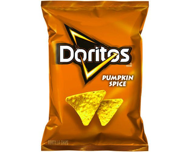 pumpkin spiced doritos